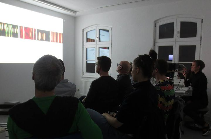 """Christine Istad Lecture as part of the program of the exhibition""""Boundary, dealing with physical, political and social b..."""