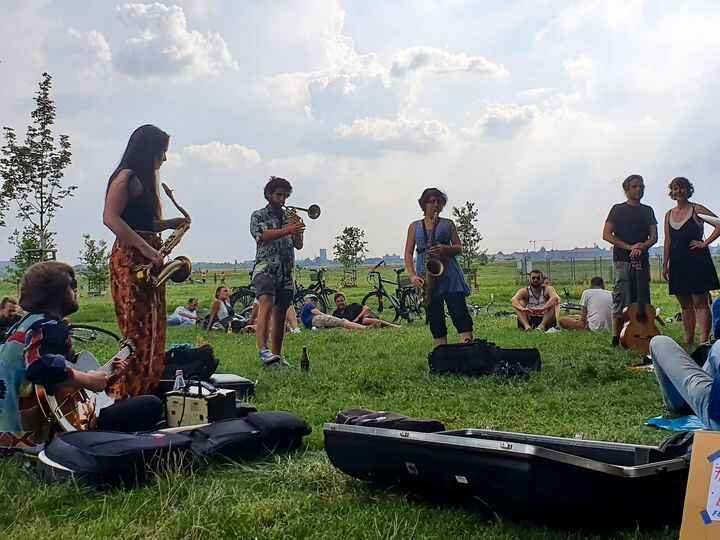 Photos from Jazz picnic Berlin - jam session's post
