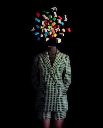 "New Arrivals ""CECI N EST PAS UNE TETE DE PIECES COLOREES"" by Photographer Miguel Vallinas #abstractart #surreall #photog..."