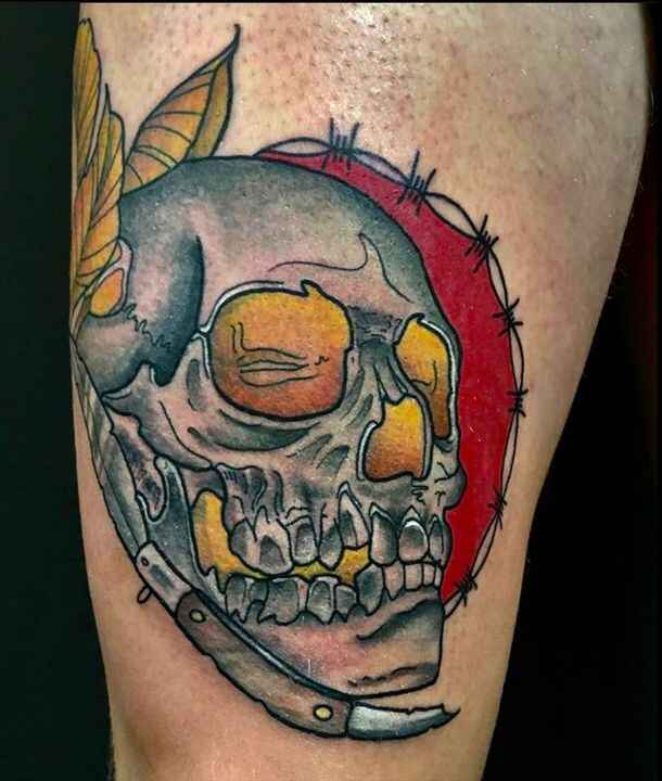 @kaostattoobullas Last Minute Surprise! U can get your appointment til 16th September! Check his artworks! ................