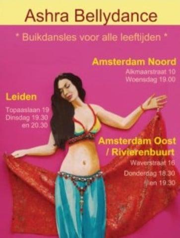 We mogen doorgaan met de lessen 🙏Vanavond start een korte Buikdansblok van 5X in Amsterdam Rivierenbuurt / Oost:Beginner...