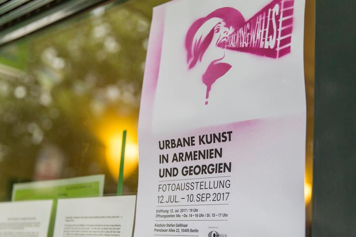Looking to brighten up a rainy Saturday in Berlin? Our urban art exhibition will do just the trick! 15.00-17.00, Prenzla...