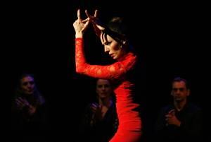 azabache FlamencoAzabache steht für ein tiefblaues, schillerndes Schwarz. In diesem Sinne verzaubern die Tänzerinnen und...