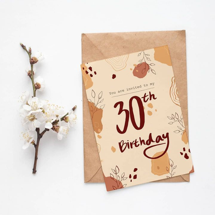 A fun little project from a while ago. I designed a custom made invitation card for my friend as a birthday present. I u...