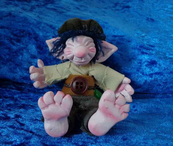 We hereby proudly present Gubble, the Goblin, finished! We already gave you a sneak peak of him when he was still a work...