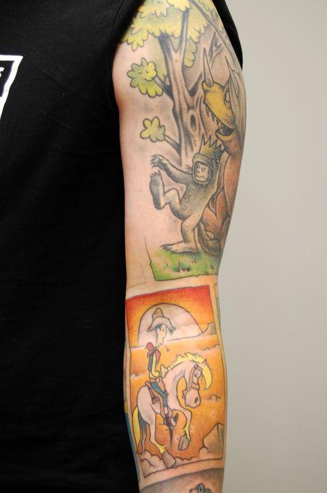 #luckyluke #münster #tattoosmachenglücklich