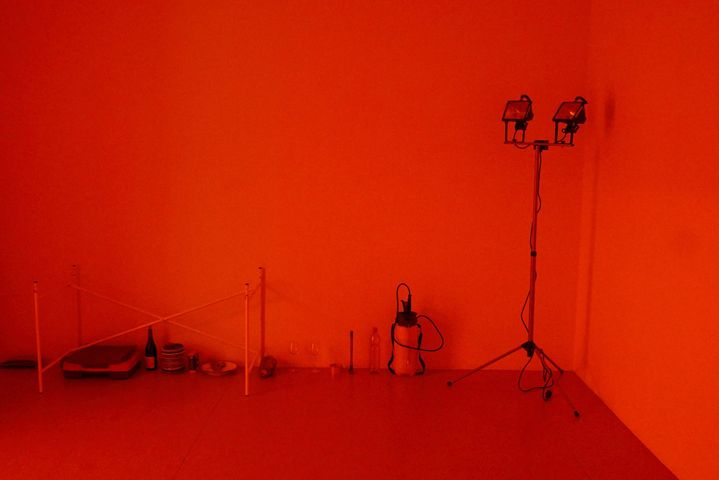 """5th Iteration: Jochen Dehn """"Instant local depression.An evening on beauty, clouds, images without frames and love withou..."""