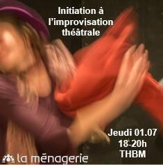 🤩 [INITIATION A L'IMPROVISATION / EINLEITUNG ZUR IMPROVISATION] ⏰Première séance ce jeudi ! Places disponibles🇫🇷 Nous or...