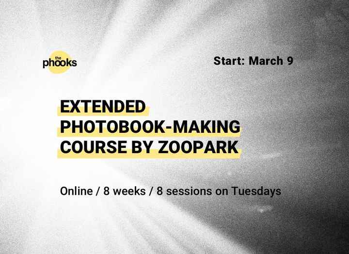 NEW ONLINE PHOTOBOOK MAKING COURSE BY ZOOPARK!